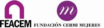 Logos FEACEM - Fundación CERMI Mujeres